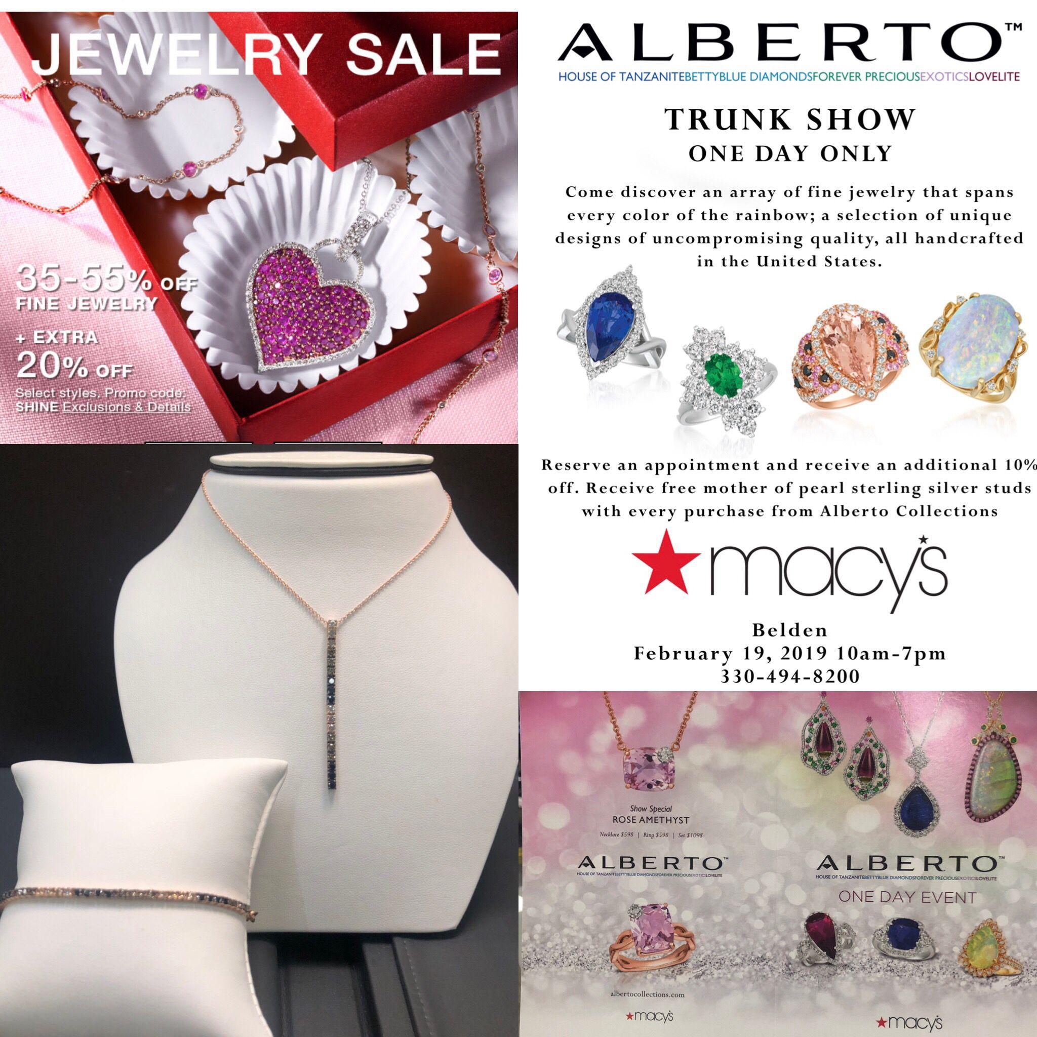 40++ Macys one day sale jewelry info