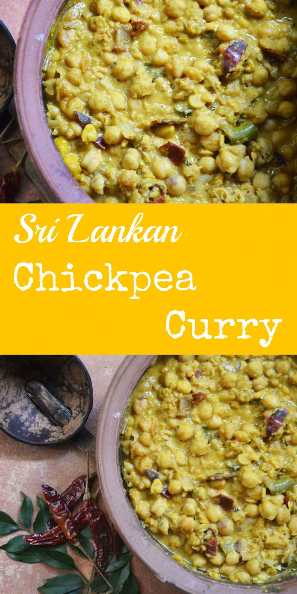 A creamy fragrant and absolutely flavoursome vegan curry the sri a creamy fragrant and absolutely flavoursome vegan curry the sri lankan chickpea curry is forumfinder Gallery