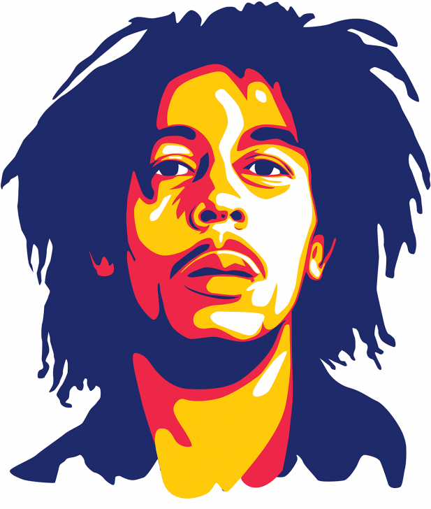 Bob Marley Reggae Music Illustration Vector Art Pencildrawing Pencil Drawing Music Bob Marley Art Bob Marley Painting Pop Art Drawing