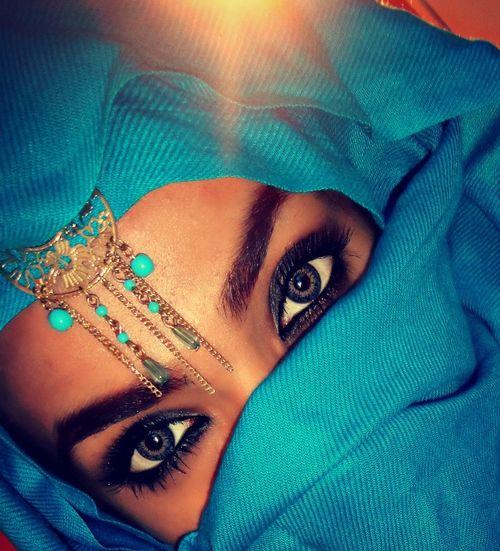 Hijab Niqab Blue Islam Beauty Eyes Beautiful Eyes Arab