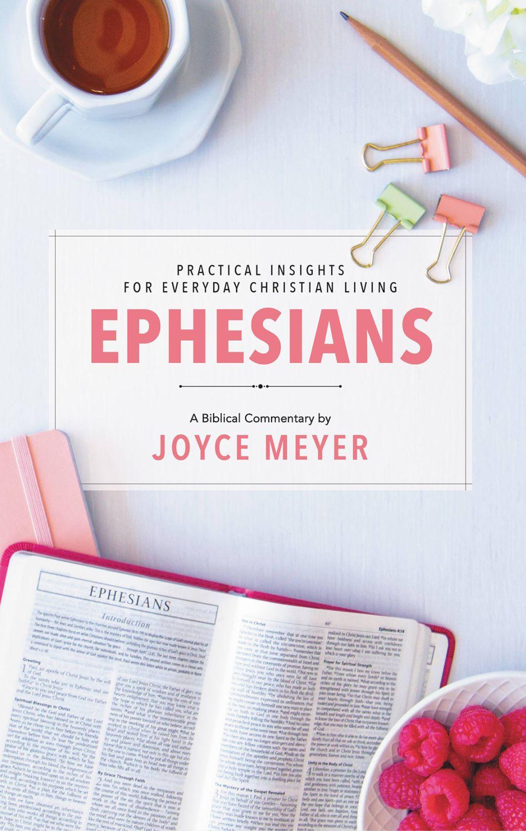Ephesians (eBook) Biblical commentary, Joyce meyer