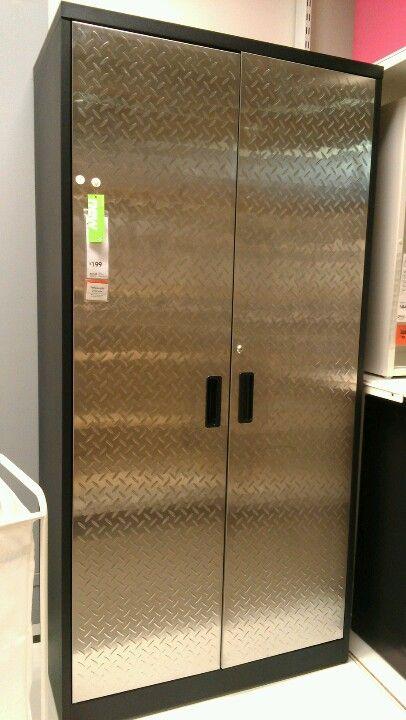 Armoire Diamond Plate Doors Ikea 199