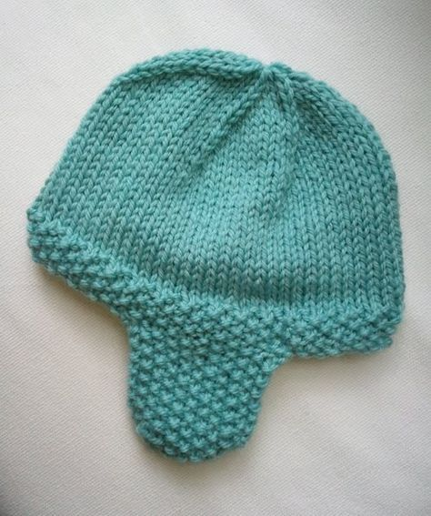LuluKnits: Seed Stitch Ear flap Hat Pattern is well ...