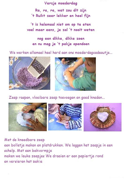 Zeep Maken En Een Versje Zeepjes Maken Voor Zeep Ketting Wc