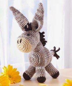 Dearest Donkey Amigurumi crochet pattern (Free Amigurumi Patterns ... 727f17ba6