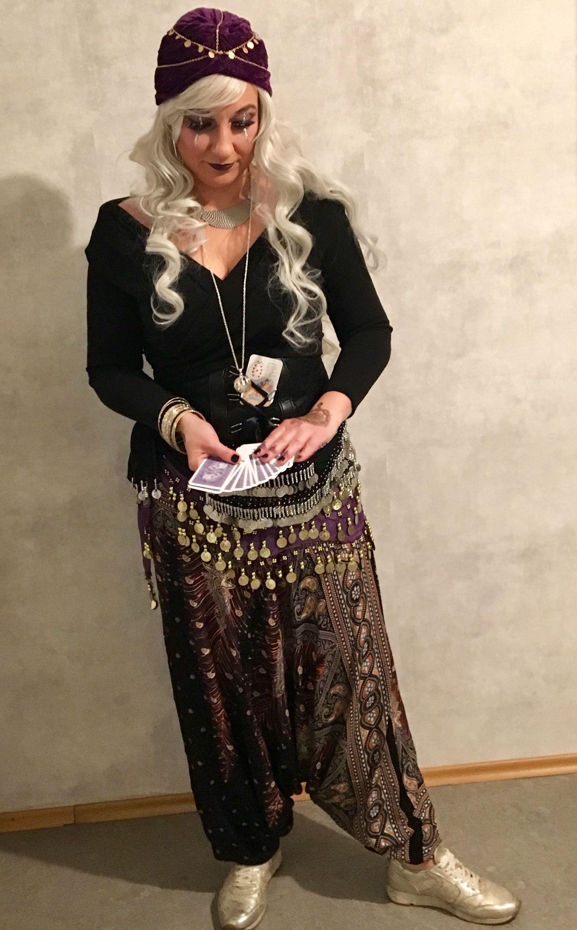 #Wahrsagerin #Fortuneteller  #Kostüm #Fasching #Karneval #Halloween #DIY #gruppenkostüme