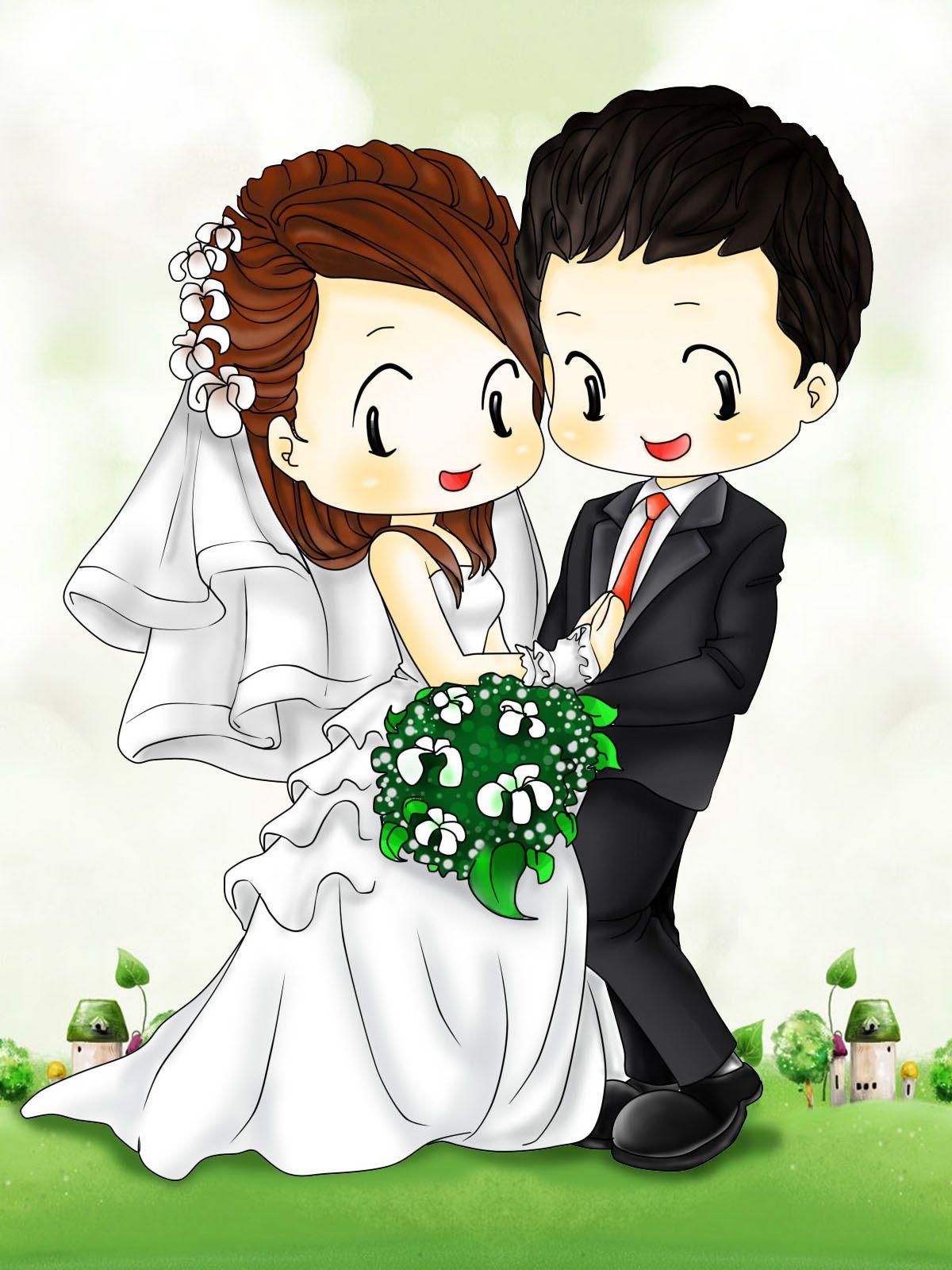 Hình ảnh Chibi dễ thương về tình yêu, cặp đôi đẹp nhất- 4