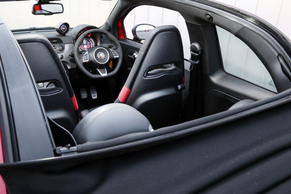 Car Reviews Abarth 595 Competizione Convertible