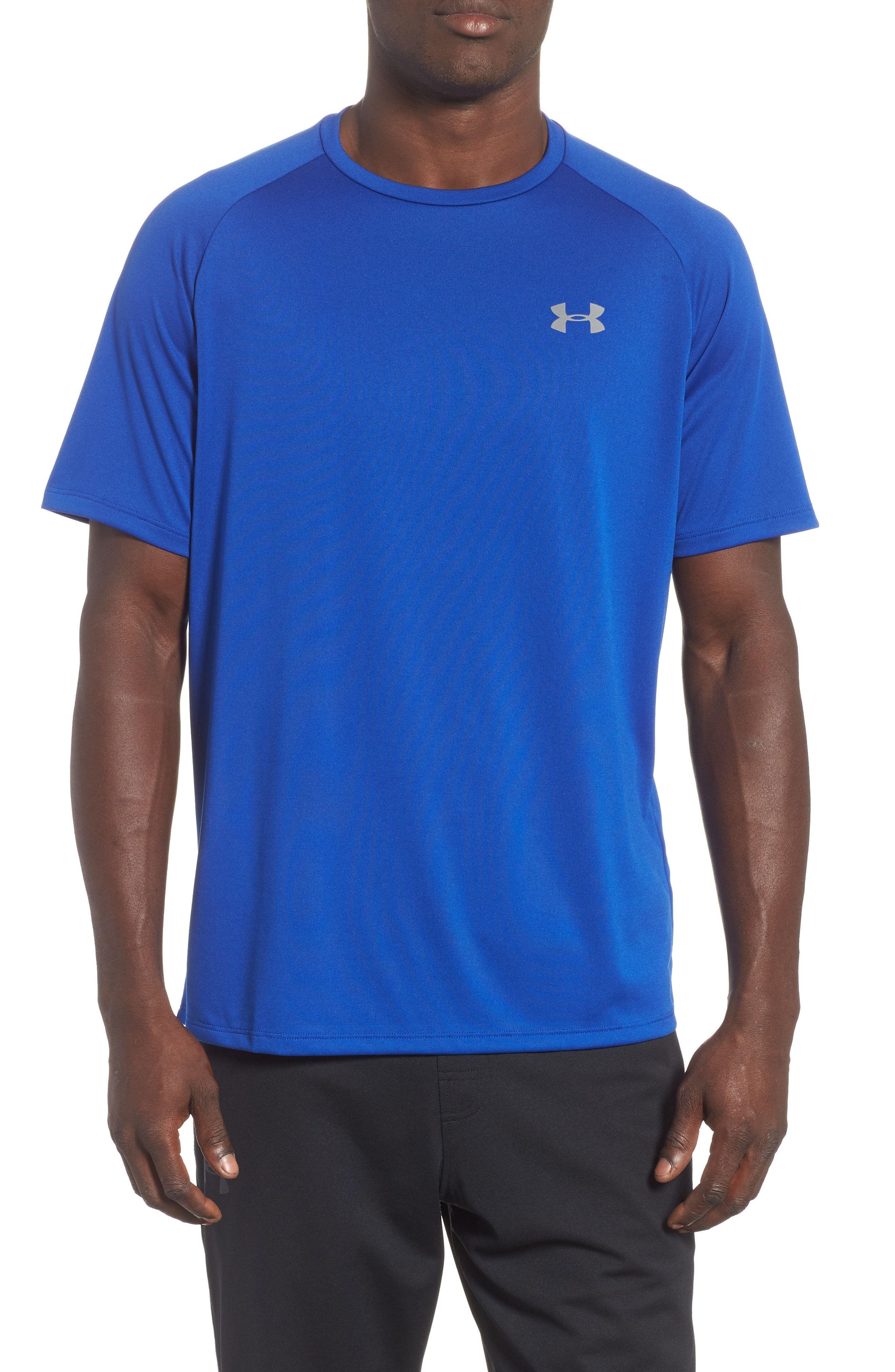 Under Armour UA Men/'s Loose Fit Heatgear Short Sleeve Athletic Tee T Shirt