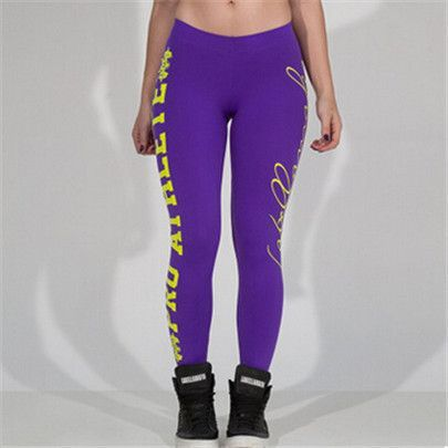 Hot Sale Leggings New Fashion Women Sexy Designer Printed Candy Colored Nine Pants Workout Sportswear Leggins Clothes K099