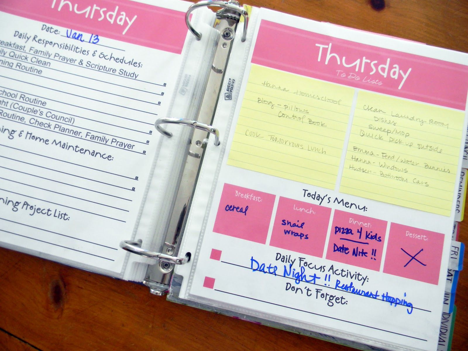 20 free DIY planner printouts (ironically, the one pictured is not ...