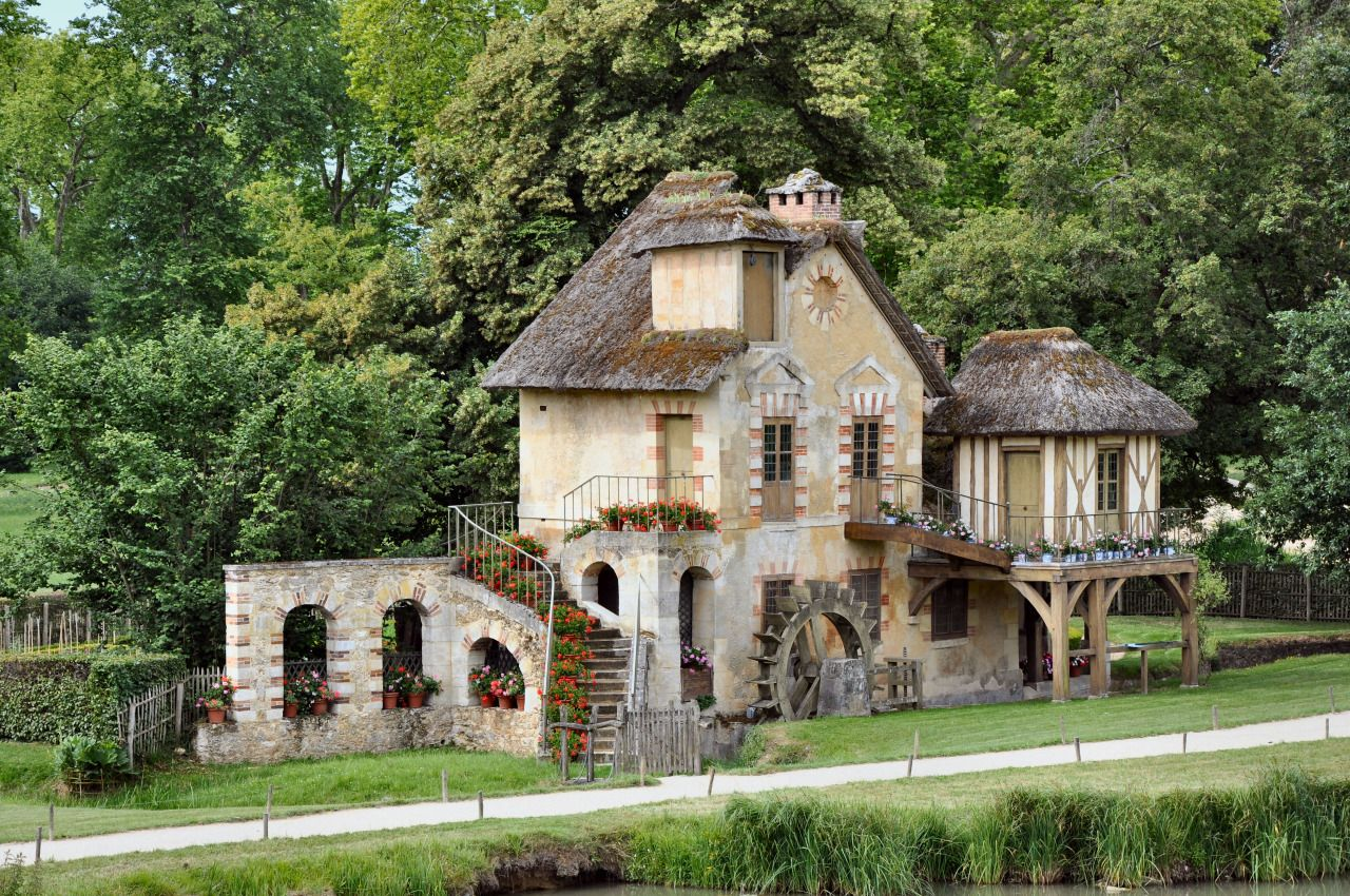 Petit Trianon Versailles The Mill Of The Queen Casas Arquitetura Versalhes