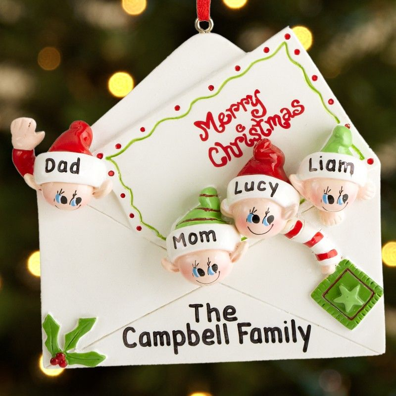Personalized Christmas Gifts for Families Christmas Pinterest