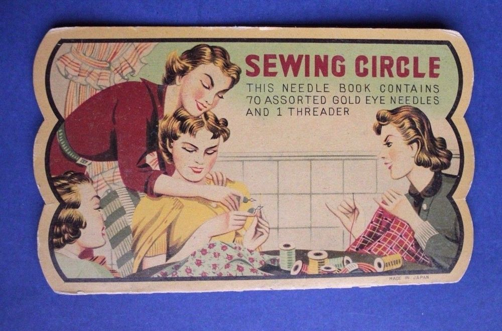US $10.00 Used in Collectibles, Sewing (1930-Now), Needles & Cases 4/16