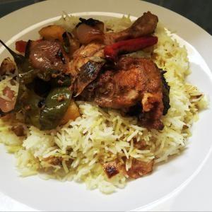 دجاج محمر مع رز مفلفل أضيفت بواسطة دانز ز المشروبات Cooking Recipes Food