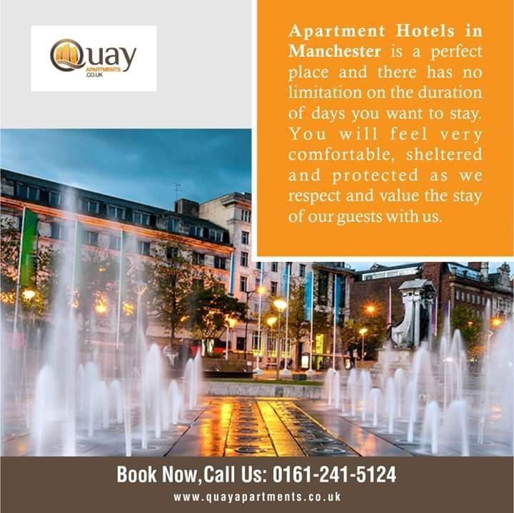 Pin by Quayapartments on Aparthotels Manchester | Serviced ...