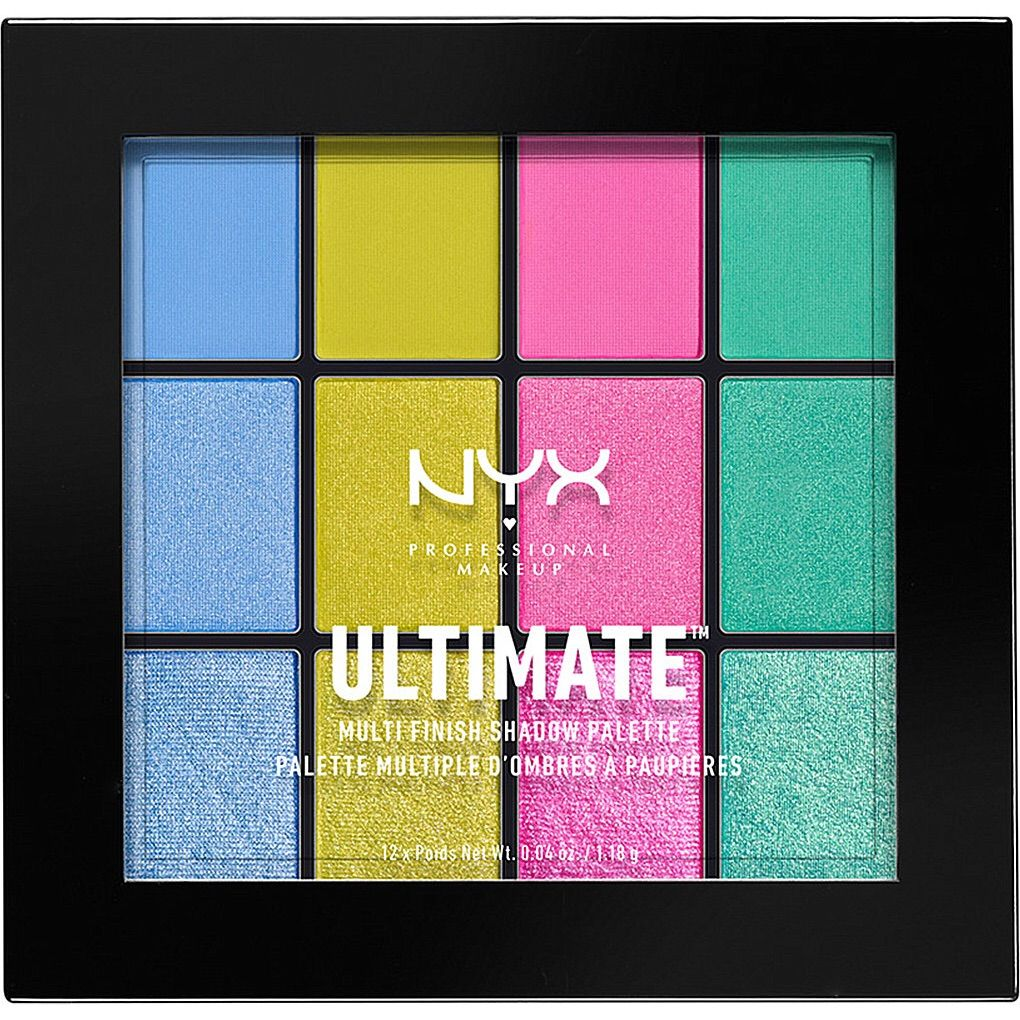 NYX Ultimate Electric Palette NWT Shadow palette, Nyx