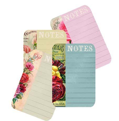 Wild@heart: Friday Freebie - Seedpacket notecards