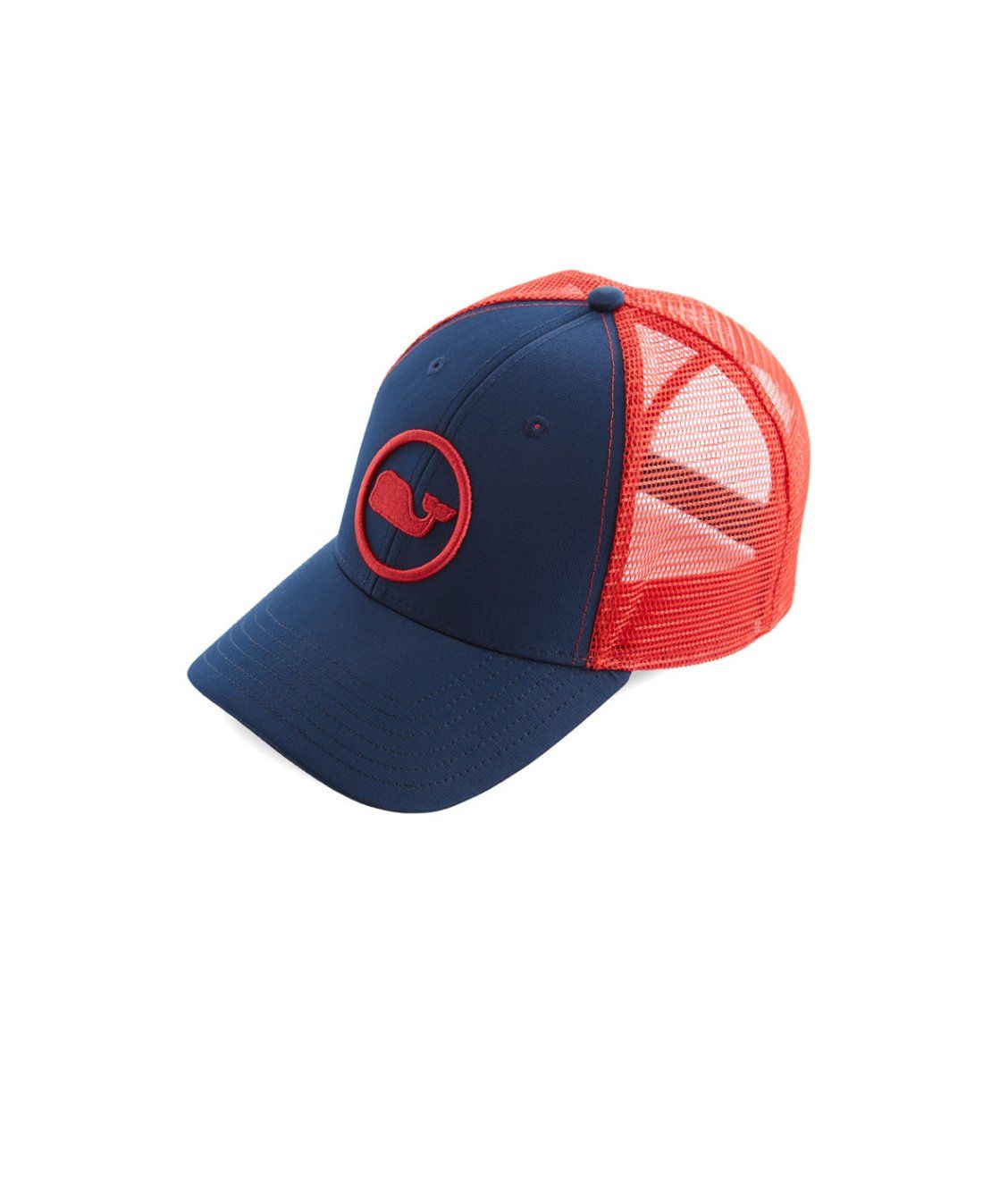 Whale Dot Performance Trucker Hat  76be828ca58
