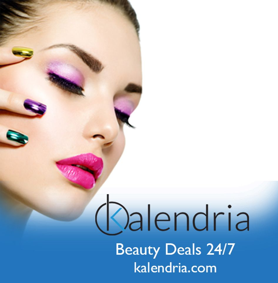 Beauty & Nails - Be Bold With Colour! Book your next Mani & Pedi on www.kalendria.com Beauty Deals Online 24/7
