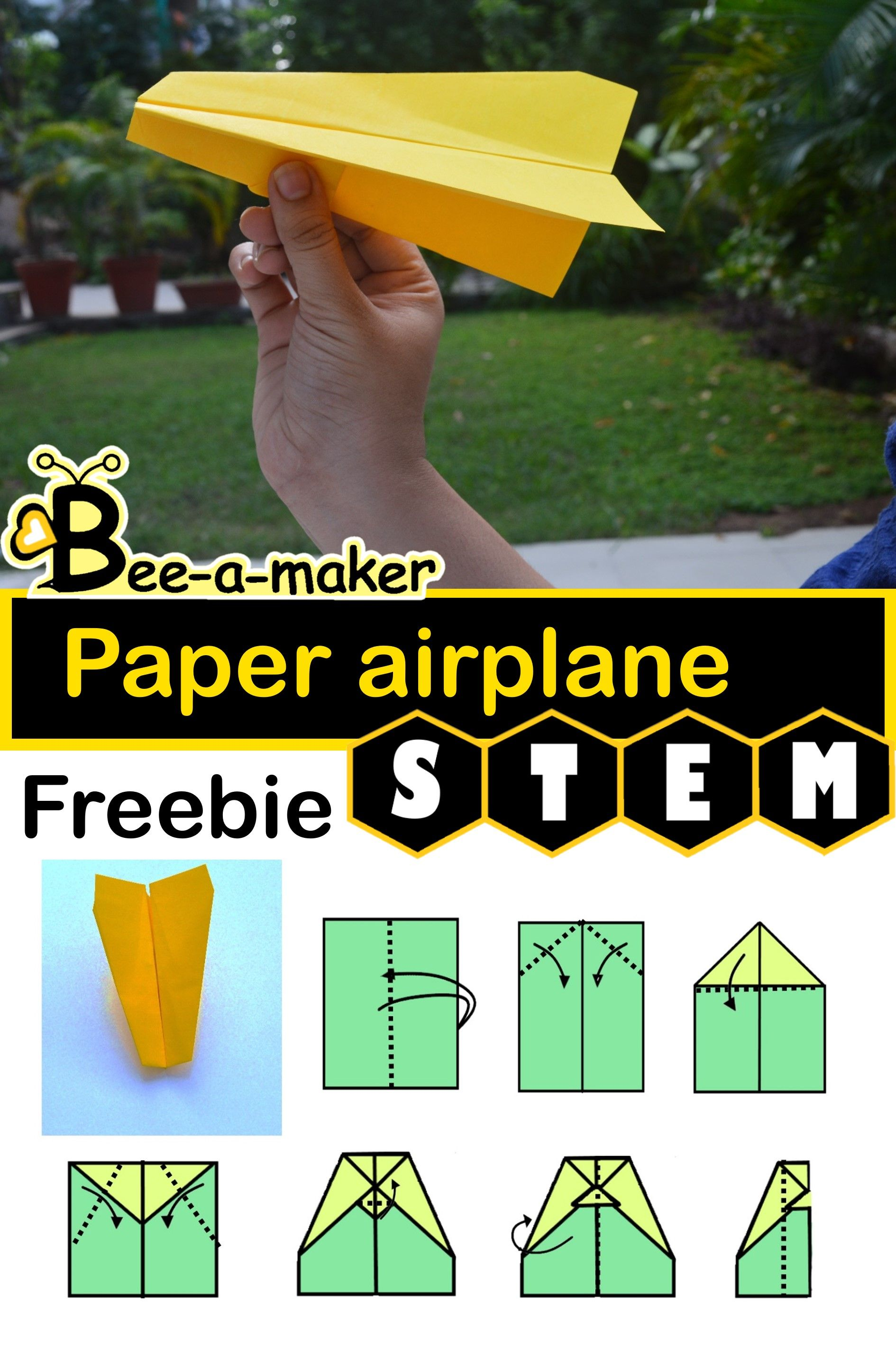 Paper Airplane Stem Challenge With Images