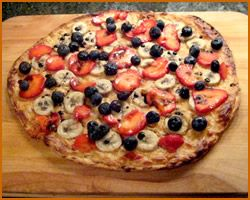 Dessert Pizza - two words that were meant for each other!