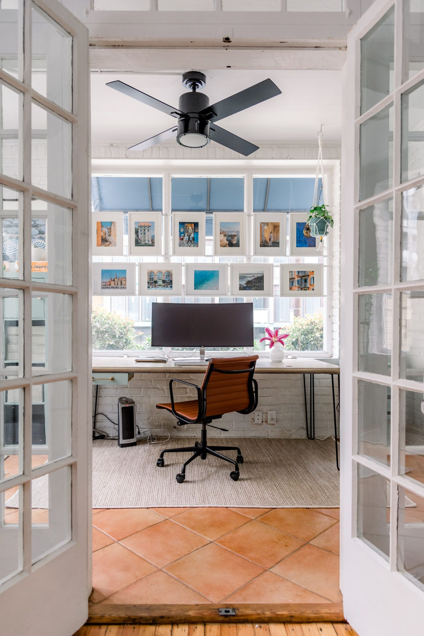 Home office makeover on a budget in 2020 with images