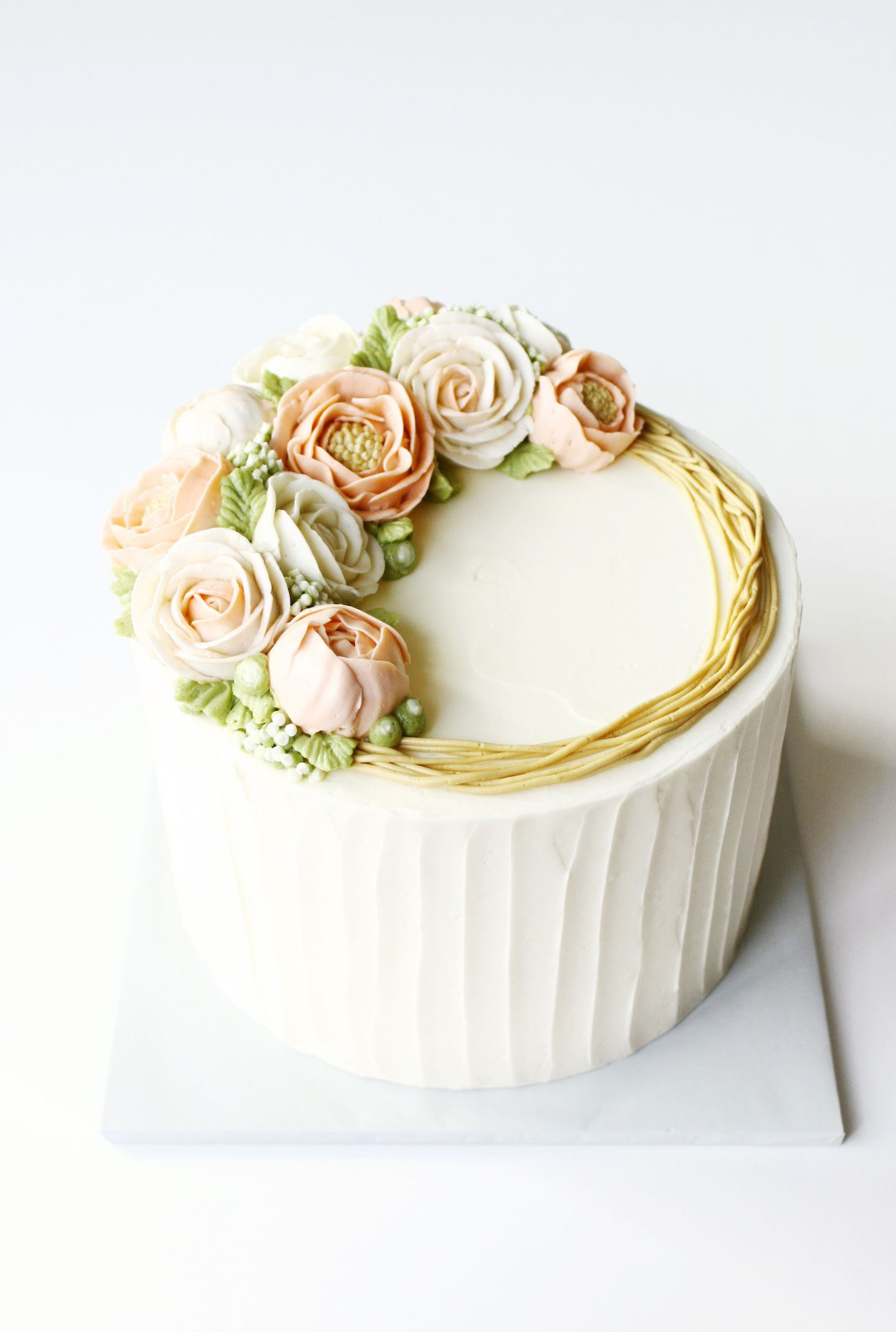 Cake Trends Blooming Buttercream Cake Decorating Buttercream Cake Butter Cream