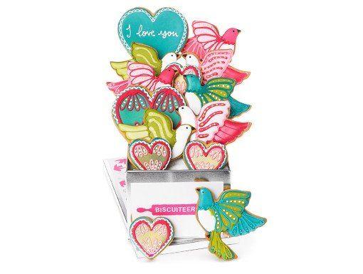 Love Bird Valentines Biscuit tin | Biscuiteers
