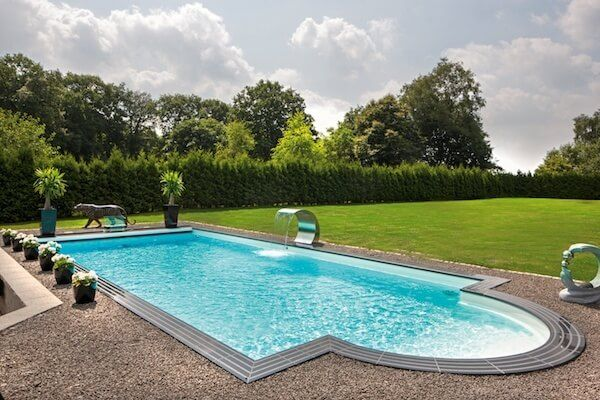 GFK Pool mit Schwalldusche | Garten | Pinterest | Schwalldusche ...