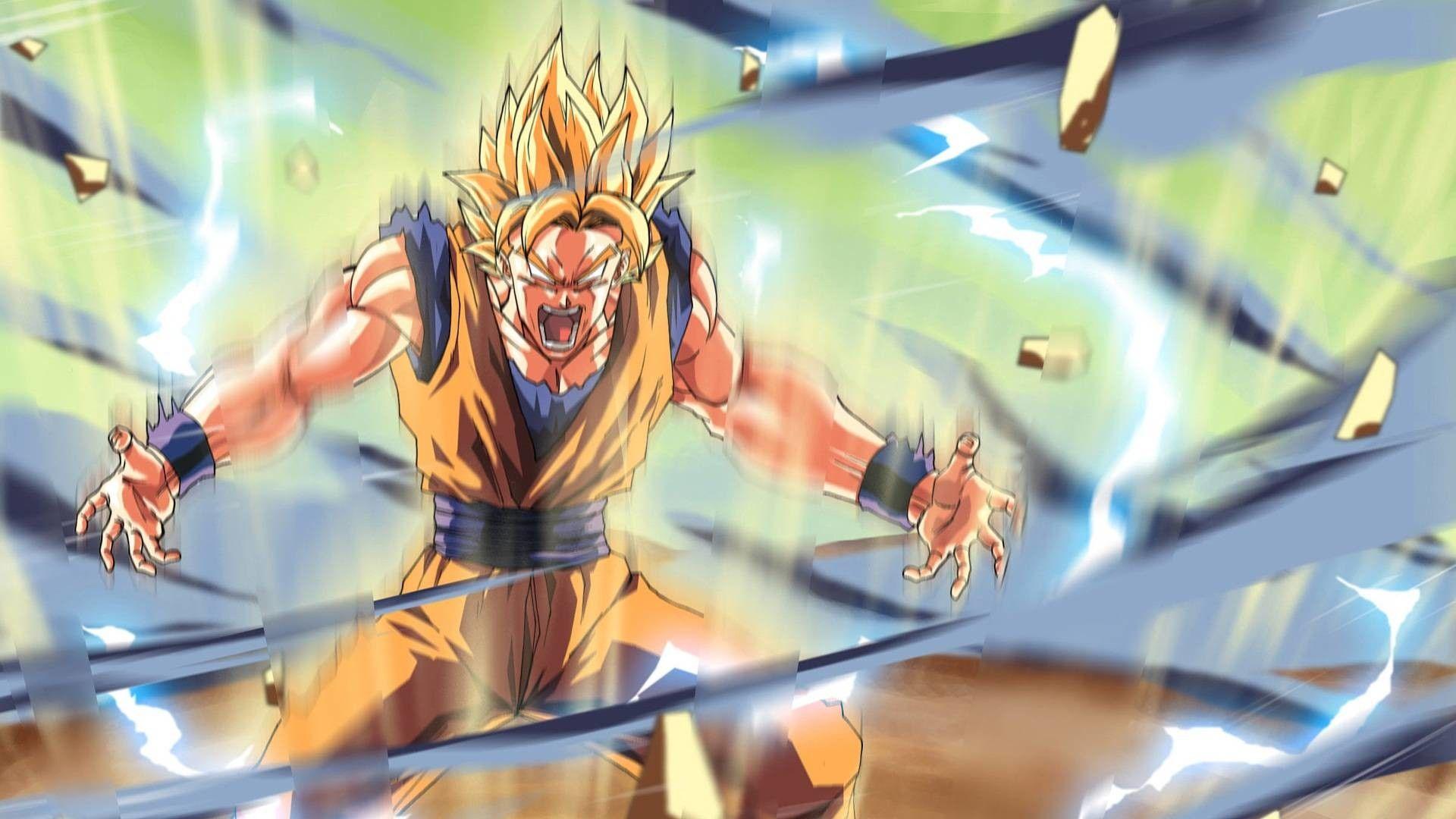1920x1080 Dbz Wallpaper Goku Kamehameha Dragon Ball Z Dragon Ball