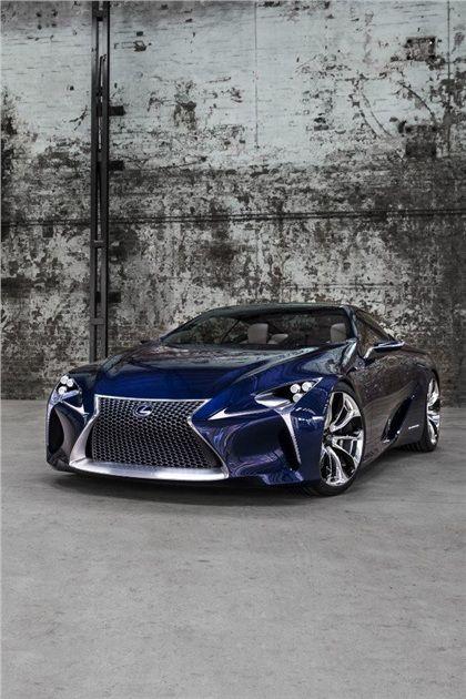 2012 Lexus LF-LC Blue - Concepts