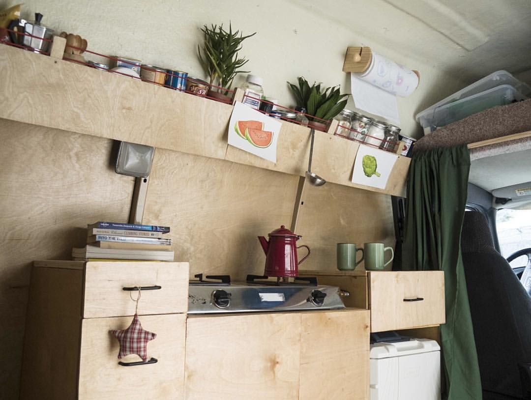Gorgeous Van Kitchen From Foreign Natives Insta Conversions IdeasCamper