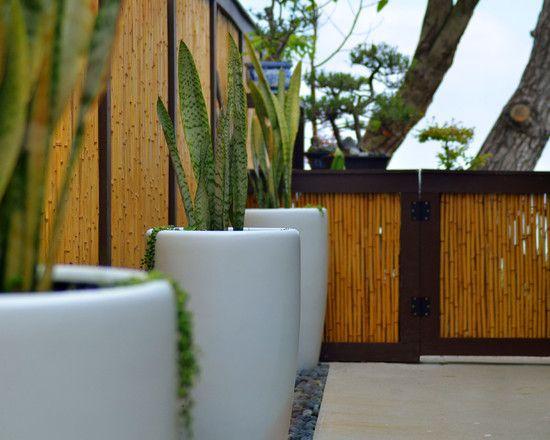 34 Ideen für Sichtschutz im Garten mit dekorativem Zaun