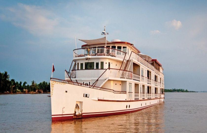 Jahan Cruise Ship, Heritage Line, Mekong River