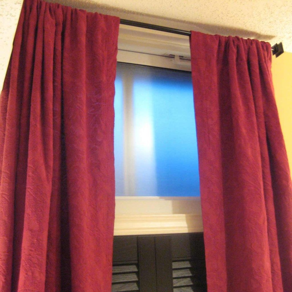 Egress window coverings  curtains for basement windows a good idea  curtains for basement