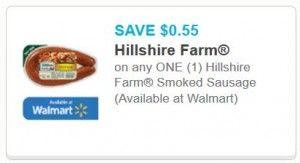 New 0 55 1 Hillshire Farm Smoked Sausage Printable Coupon Now Available Hillshire Farm Smoked Sausage Printable Coupons