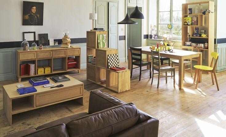 Le Salon Tassia Le Salon Idées Déco Alinéa Salon Sam - Table laque blanc alinea pour idees de deco de cuisine