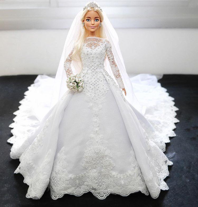 платье для куклы невесты фото третий лишний