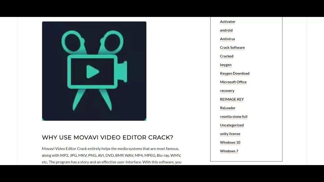 Movavi Video Editor Plus Activation Key Latest 2021 Download Video Editor Video Editor