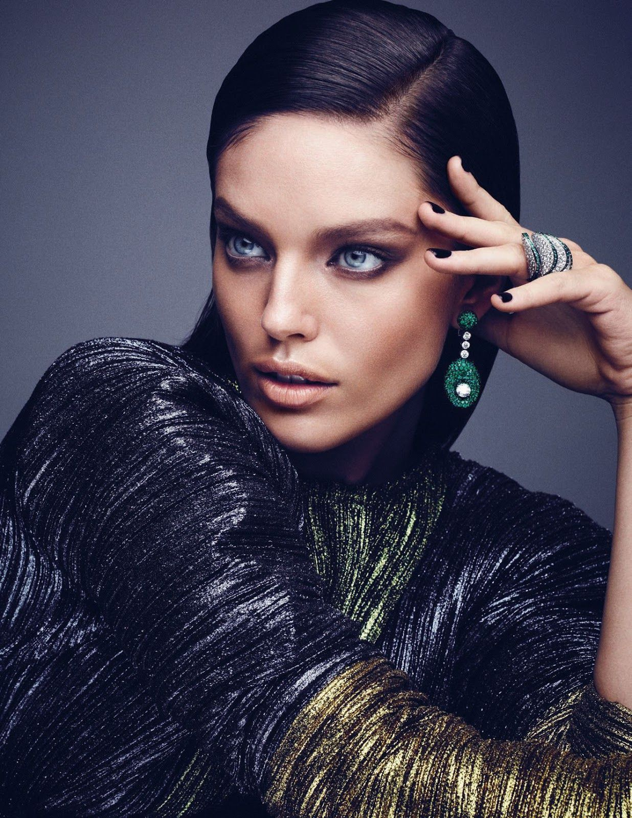 Photo of Emily Didonato – Fashion Photography Editorial – Vogue Jewelry – Jewelry Editorial – …