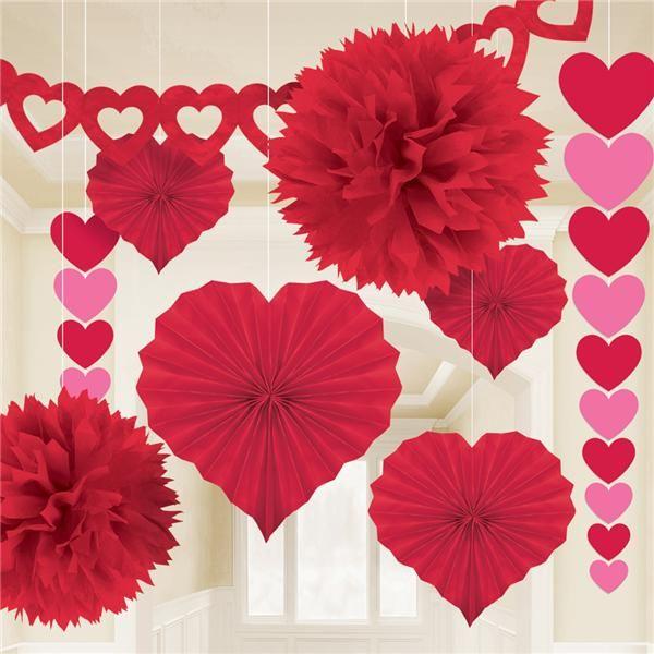 Kit ahorro decoraci n san valentin - Decoracion de san valentin ...