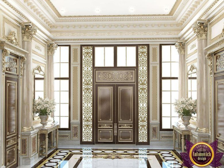 Interior design villa saudi arabia of katrina antonovich for Classic villa interior design