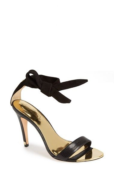 d8c7065afbb6 Free shipping and returns on Ted Baker London  Sackina  Sandal (Women) at  Nordstrom.com. A knotted ankle strap looks fresh and pretty on a suede  sandal ...
