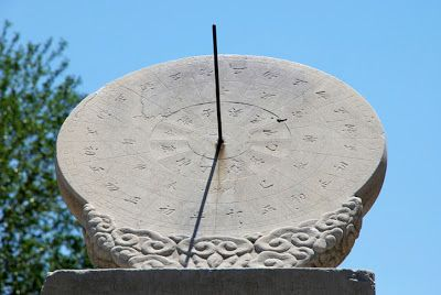 Gardening How To Make A Sundial A Project For A Sunny Day Or