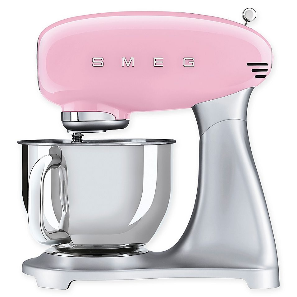 SMEG 50's Retro Style 5 qt. Stand Mixer with Stainless