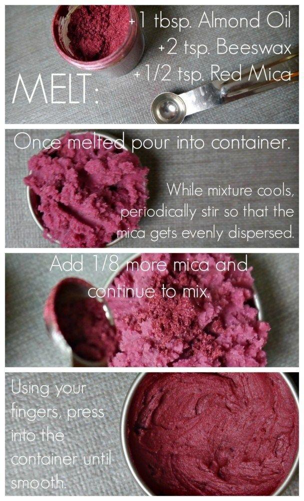 DIY Cream Blush and Lip Tint Diy cream, Lip tint diy