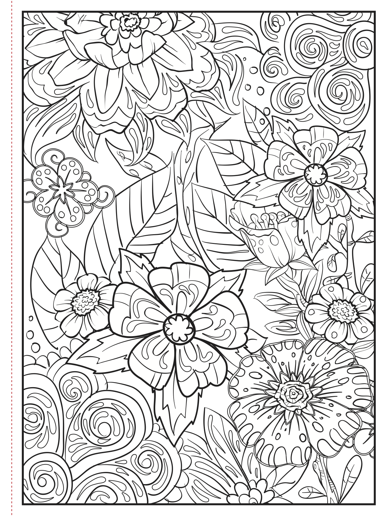 Choose From A Variety Of Free Coloring Pages From Our Coloring Book Colors In Bloom Freeprin Cute Coloring Pages Abstract Coloring Pages Cool Coloring Pages