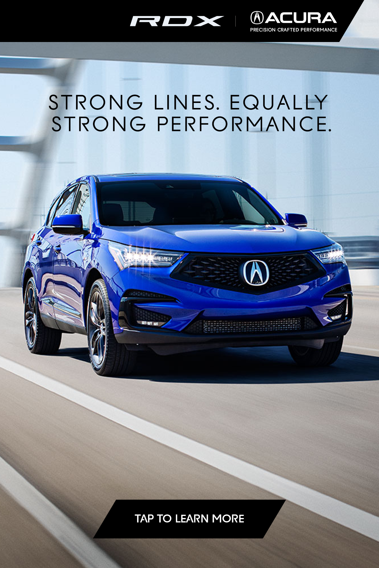 The 2020 Acura Rdx Strong Lines Equally Strong Performance Custom Muscle Cars Bmw Suv Futuristic Cars