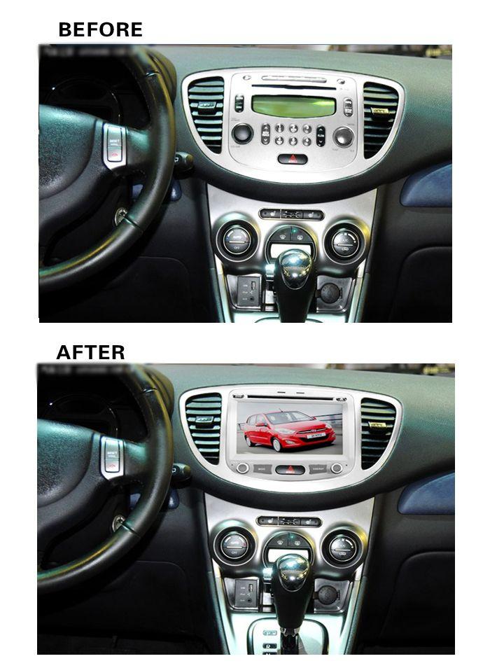Ram 2gb Hd Android 7 1 Fit Hyundai I10 2009 2010 2011 2012 Car